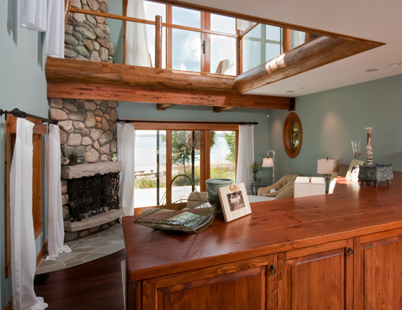 Custom Cabinetry - Cabin On The Bay | Indesign - Interior Design